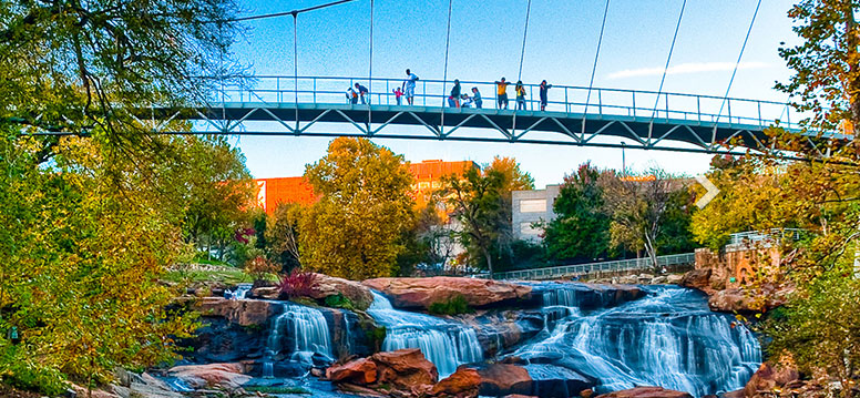 Greenville South Carolina Amerika