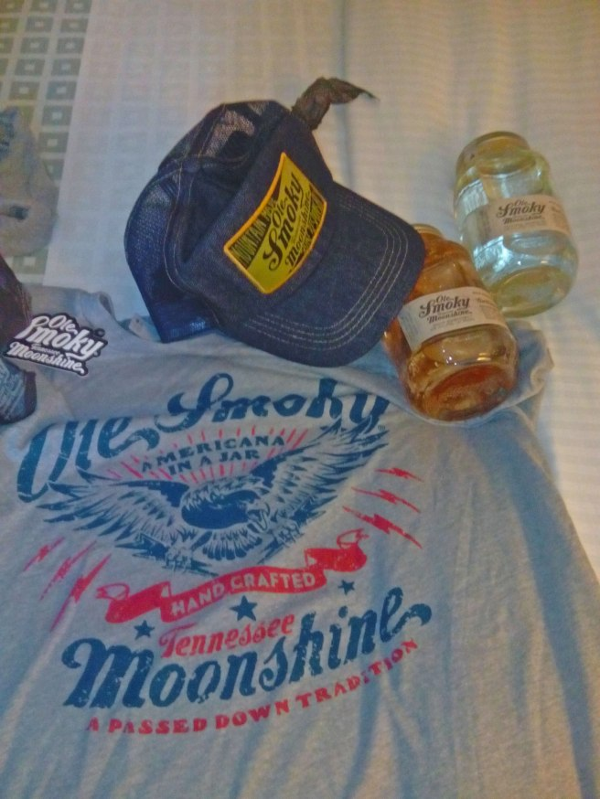 souvenirs merchandising Ole Smoky Tennessee Moonshine in Gatlinburg