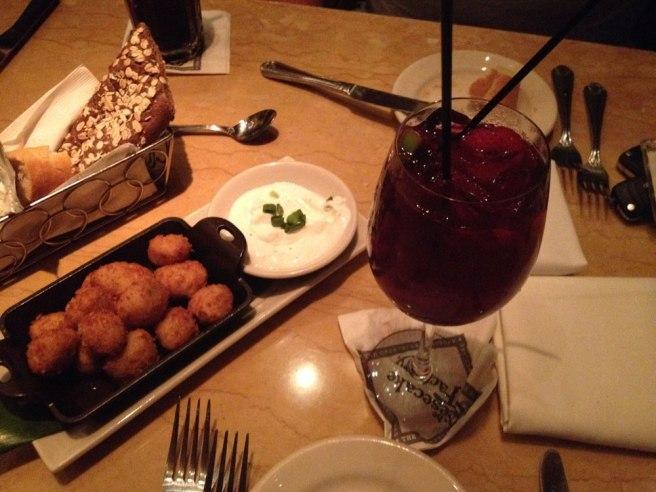Eten en drinken in restaurant Cheesecake Factory