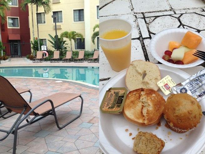 hotel ontbijt staybride suites naples florida