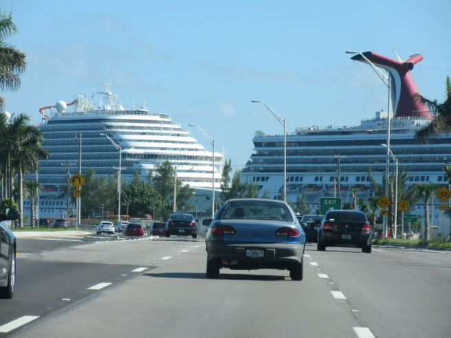 Cruiseschepen in Miami