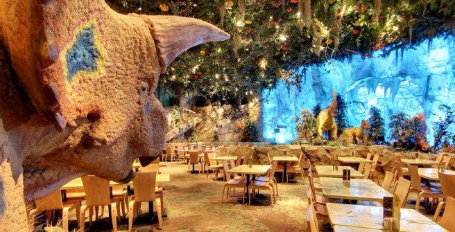 Dino T-Rex Cafe Orlando Florida restaurant