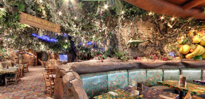 Rainforest Cafe Restaurant Interieur