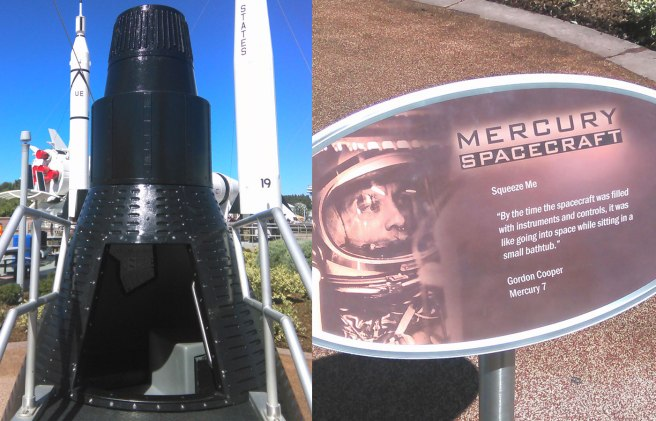 Mercury Spacecraft NASA Kennedy Space Center Florida