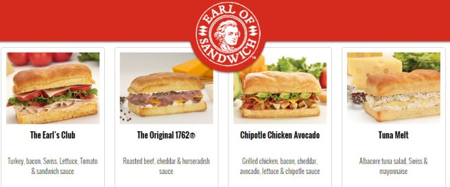 Lunchen in Amerika bij Earl Of Sandwich